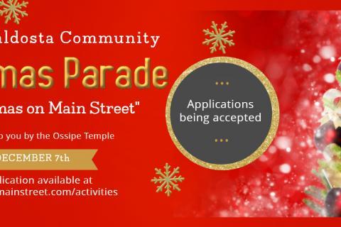 Christmas Parade Registration