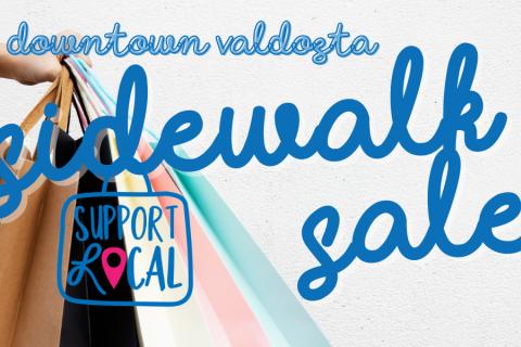 Sidewalk Sale in Downtown Valdosta!