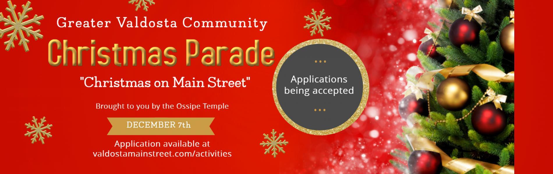 Valdosta Ga Christmas Parade 2019 Greater Valdosta Community Christmas Parade | Valdosta, GA   Main