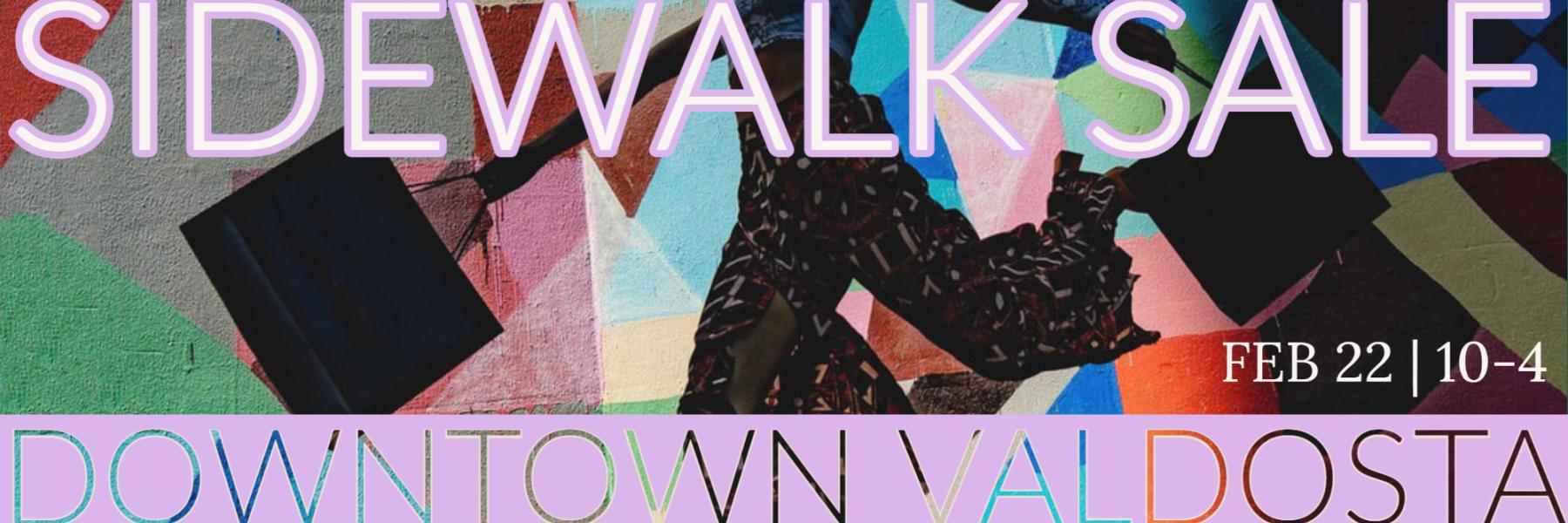 Sidewalk Sale in Downtown Valdosta on February 22nd 10-4